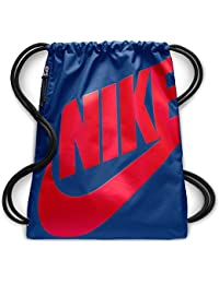 95e32112fb Nike NK Heritage GMSK Sacca Unisex-Adulto, Multicolore (Indgfrc/Brghtcrmsn)  17x15x25