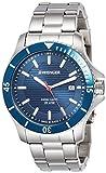 Wenger Wenger Seaforce 01.0643.120 - Reloj de pulsera unisex, Azul/Plata