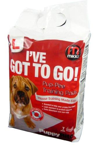 Artikelbild: Mikki Hygiene Pup-pee Pads 50 Pack-7 Pack