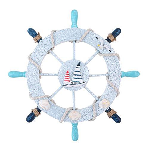 niceeshoptm-ornamental-home-nautical-wall-marine-decor-wood-pirate-ship-helm-wheel-sailboat-diameter