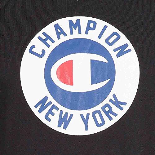 Champion Classic Tee–Maglietta da uomo, Grigio nero
