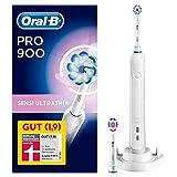 Oral-B PRO900 Sensi UltraThin Elektrische Zahnbürste, Für eine sanfte Reinigung am Zahnfleischrand, weiß