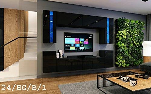 Wohnwand FUTURE 24 Moderne Wohnwand, Exklusive Mediamöbel, TV-Schrank, Neue Garnit...