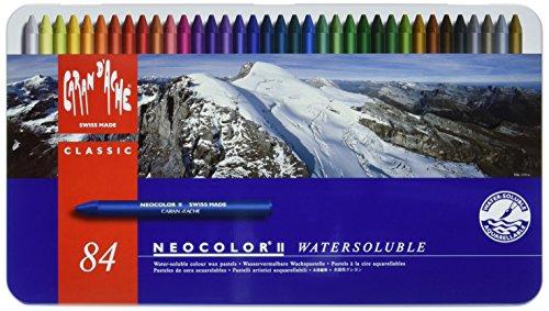 Caran D'ache Neocolor II Kreidestifte (84Stück)