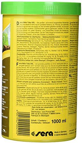 sera Wels-Tabs XXL 1.000 ml das Futter für größere Welse: Als Boden- oder Hafttablette nutzbar - 4