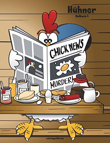 Hühner-Malbuch 4