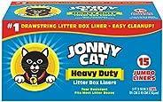 بطانات لصندوق فضلات القطط شديدة التحمل من جوني كات، جامبو، 5 بطانات