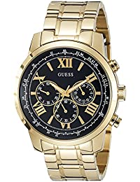 Guess Herren-Armbanduhr Analog Quarz Edelstahl W0379G4