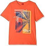 s.Oliver Jungen T-Shirt 61.803.32.6667, Rot (Red 2590), 164 (Herstellergröße: L/REG)