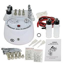 3 in 1 Diamond Microdermabrasion Gesichtspflege Gerät 240V Vakuumdruck 60-70 cmHg Spray Dermabrasion Maschine