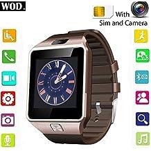 Cewaal Bluetooth reloj inteligente DZ09 deporte sueño monitor pedómetro Wristband para Android IOS