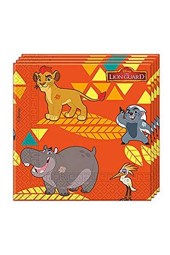 Unique Party Supplies 200ml Disney Lion Guard Kunststoff Tassen, 8Stück