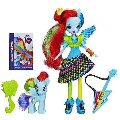 Preisvergleich Produktbild My Little Pony Equestria Girls Rainbow Rocks Rainbow Dash Doll and Pony Set