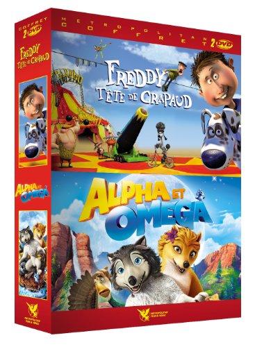 Freddy tête de crapaud + Alpha & Omega [Francia] [DVD]