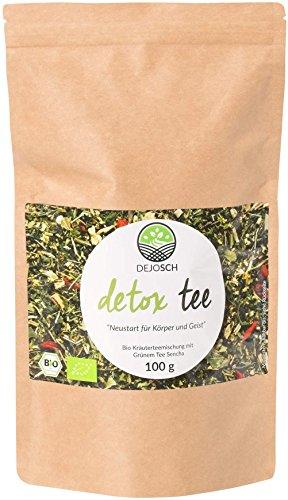 Bio Detox Tee - unterstützt 14 Tage natürlich und effektiv dein Ziel zu erreichen - ohne Zusatzstoffe und zuckerfrei - Kräuterteemischung - Hergestellt in Deutschland - 100 Gramm