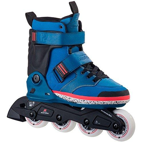 K2 Erwachsene Inline Skates Midtown Blue - Blau - EU: 43.5 (US: 10 - UK: 9) - 30A0015.1.1.100 -