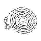 Aienid Frauen Geschenk 925 Sterling Silber Halskette für Damen 26