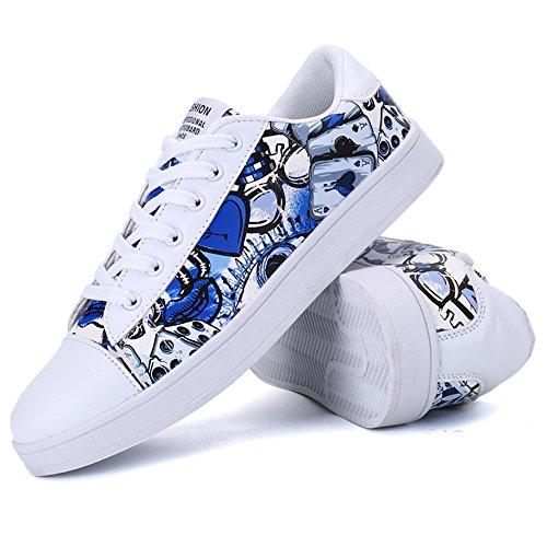 XIANV , Chaussures plates homme Bleu