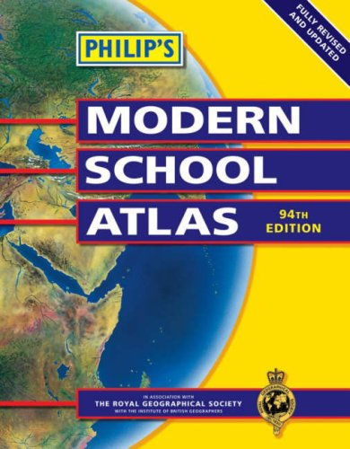 Philip's Modern School Atlas (Philip's School Atlases)
