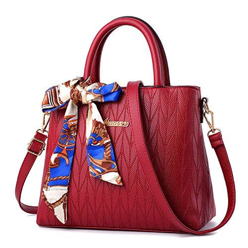 CengBao speciali giornalieri offre eleganti girl borsa pacchetto Ms. marea di pacchetto rosso spalla borsa Messenger sposa pacchetto pacchetto matrimonio, rosso Vino rosso