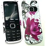 Emartbuy ® Nokia 6700 Classic Gel Skin Cover Lila Bloom