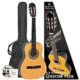 Encore ENC34OFT Kit guitare classique 3/4 Bois naturel