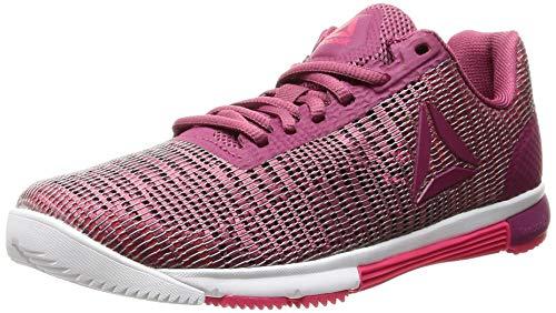 Reebok Damen Speed TR FLEXWEAVE Fitnessschuhe, Mehrfarbig Berry/Twisted Pink/White 000, 38 EU