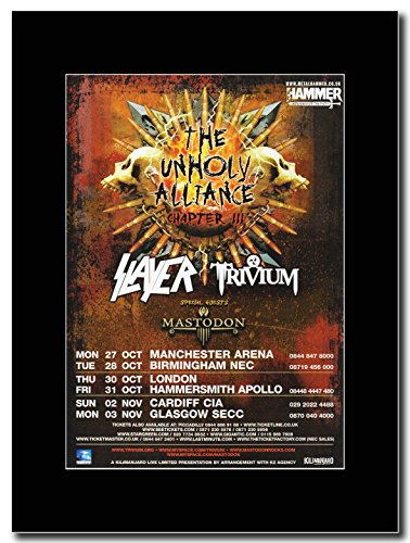 slayer-trivium-uk-tour-fechas-2008-unholy-alliance-chapter-iii-revista-promo-sobre-un-soporte-de-neg