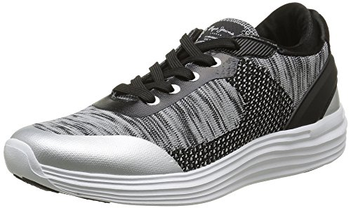 Pepe Jeans - Dakota, Sneaker Donna Argento (Argent (934Silver))