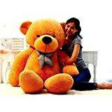 #2: AVS Stuffed Spongy Soft Teddy Bear (Brown, 6 Feet)