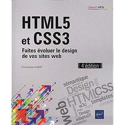 HTML5 et CSS3 - Faites évoluer le design de vos sites web (4e édition)