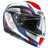 HJC Motorradhelm RPHA 90 Robrigo MC1, Weiß/Blau/Rot, Größe L