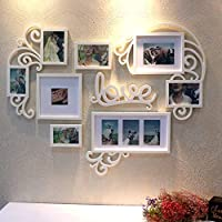 Cornici Per Foto Romantiche.Cuore Romantico Cornici Foto Decorazioni Per Amazon It
