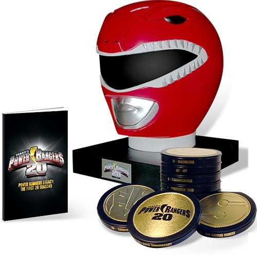 Mighty Morphin Power Rangers: Legacy Collection Complete Seasons 1-20 98 DVD Set w/ Art Book (Power Rangers Dvd-set)