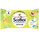 Scottex Junior Papel Higiénico Húmedo - 42 servicios