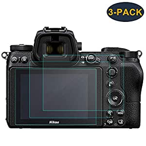 KIMILAR Compatible Nikon Z6 Z7 Films de Protection d'Ecran, Protecteur de Écran en Verre Trempé pour Nikon Z6 Z7 Mirrorless Digital Camera (Lot de 3)
