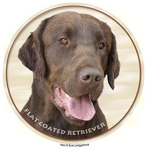 LUKKA Flat Coated Retriever Sticker 15 cm