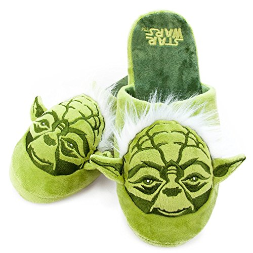 Offizielle Star Wars Meister Yoda Erwachsenen Mule Slip -