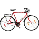 Best Road Bicycles - Hero Hawk 27T Single Speed Cycle (Red) Review