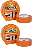 2 x Frosch Orangebraun Malerkrepp Klebeband für Glanz & Satin 24 mm x 41 M