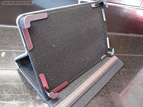 Blau Multi Winkel Case/Ständer für Coby Kyros Internet Tablet MID7042 (Netzkabel Für Coby Tablet)