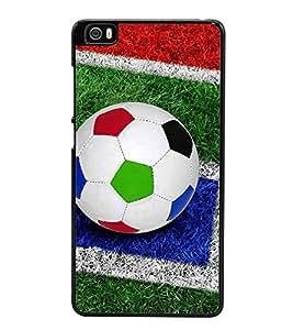 Colourful Football 2D Hard Polycarbonate Designer Back Case Cover for Xiaomi Mi 5 :: Redmi Mi5