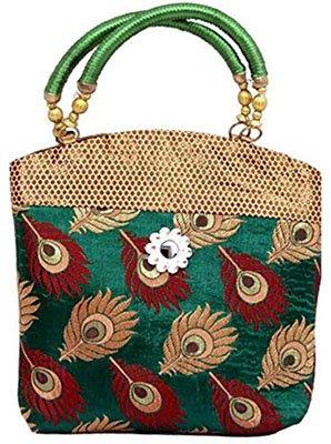 DMS Retail Women's Handbag (Amzn-5788,Green)