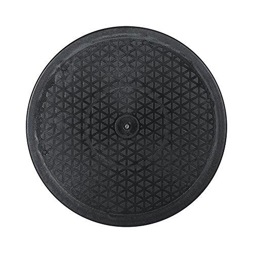 12inch 360° Drehteller Drehscheibe Druckkugellager Plastik Tisch Drehbar für TV Monitor Schwenkplatte Lautsprecher Küchengeräte Home Küche etwa 25KG tragbar(12inch 30CM)