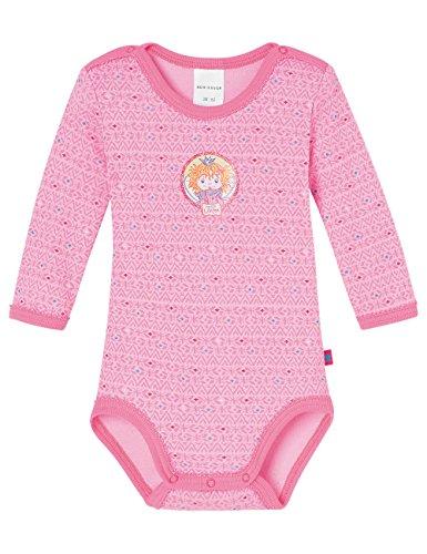Schiesser Baby-Mädchen Prinzessin Lillifee Body 1/1, Rot (Rosé 506), 80 (Herstellergröße: 080)