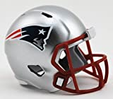 New England Patriots NFL Riddell Speed Pocket Pro micro/tascabile/Mini casco da football