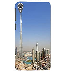 HTC DESIRE 820 BUILDING Back Cover by PRINTSWAG