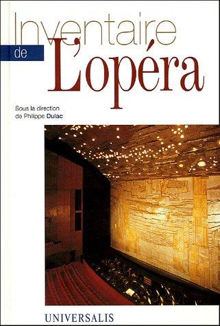 Inventaire de l'Opéra