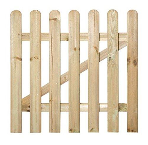 VERDELOOK Maremma, Cancello Recinzione Dimensioni 100x90 cm, per Recinzione Giardino