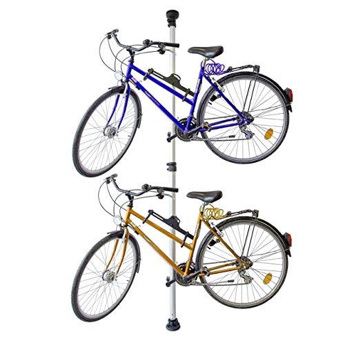 Imagen de Poleas Para Colgar Bicicletas Techo Relaxdays por menos de 70 euros.